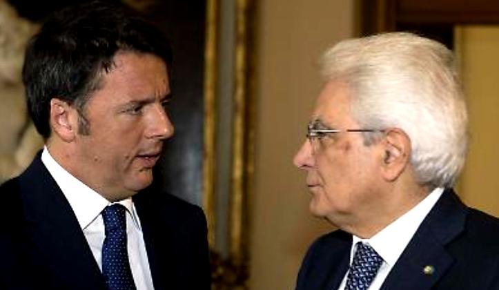 Il PD con le dimissioni di Renzi continua a combattere la Costituzione