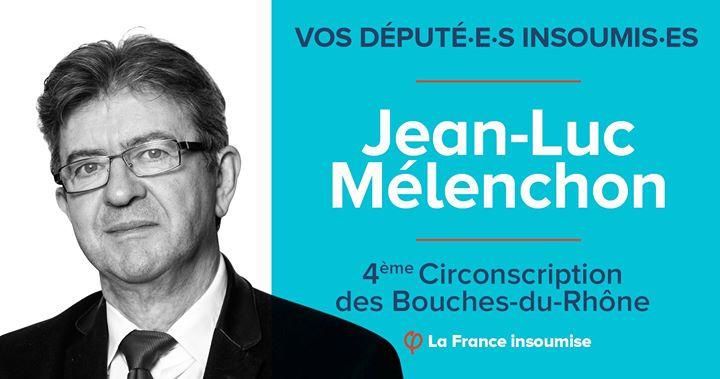 Jean Luc Melenchon leader de La France Insoumise