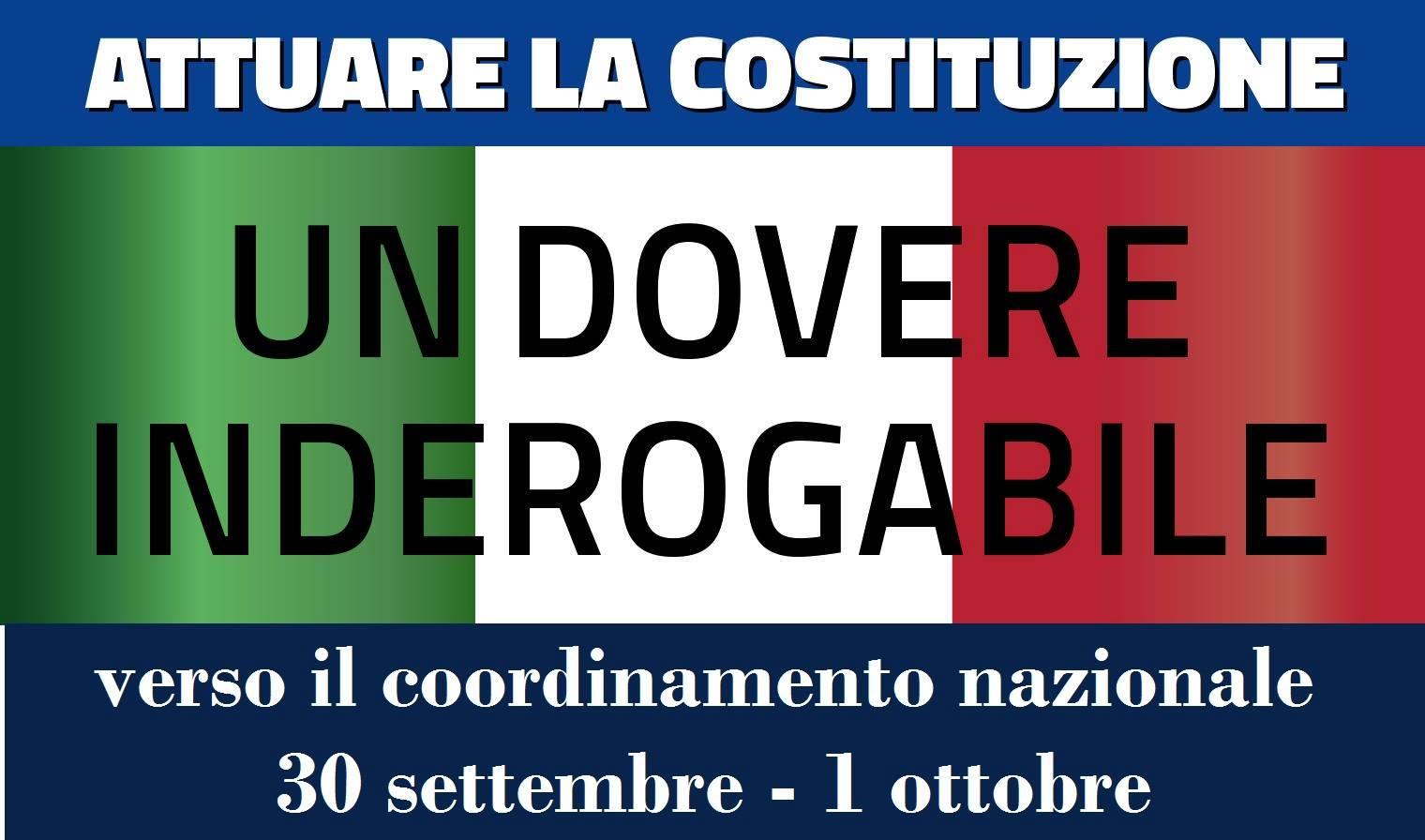 Paolo Maddalena lancia Attuare la Costituzione